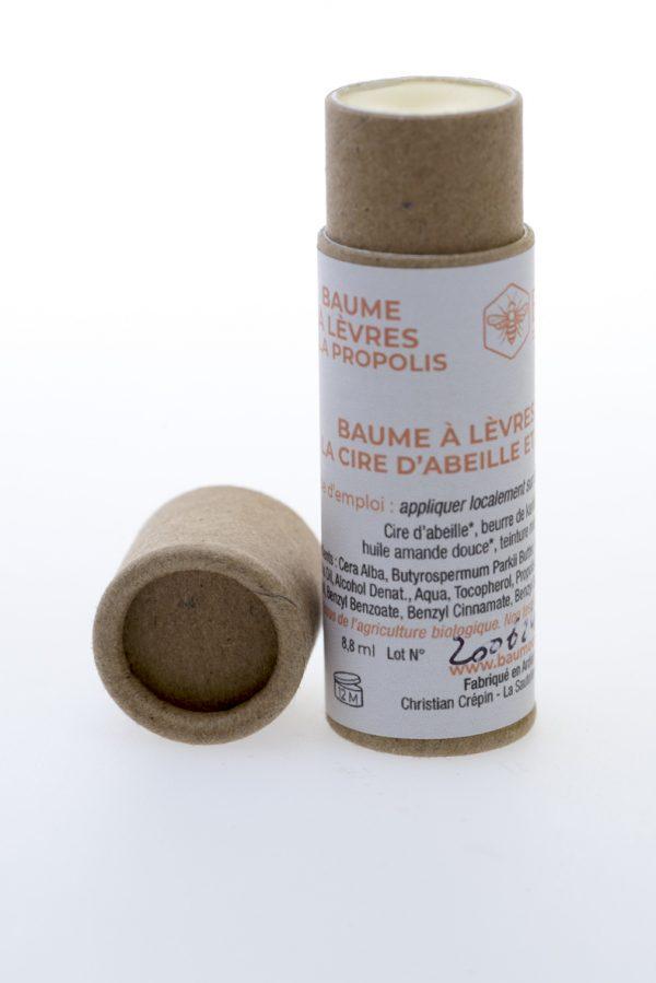 Baume à lèvre à la propolis- Baumocoeur