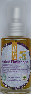 L'huile à l'hélichryse - BôM