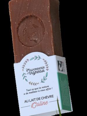 Savon au lait de chèvre Caline - La savonnerie du vigneau