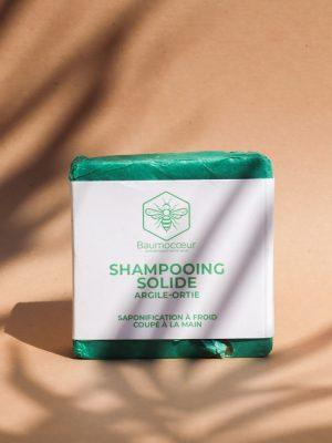 Shampoing solide argile-ortie - Baumocoeur