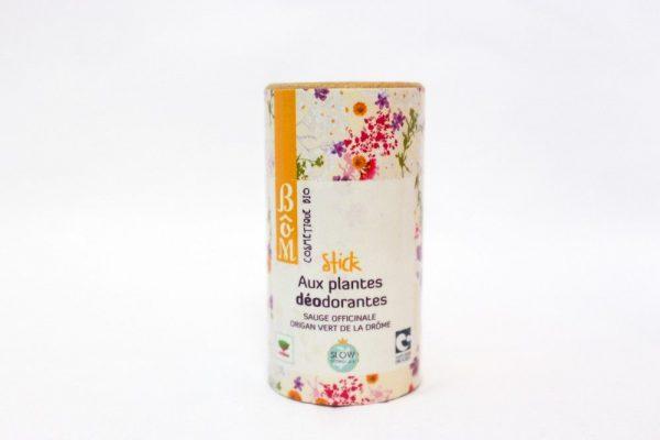Stick Déo aux plantes déodorantes - BôM