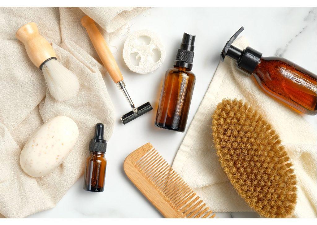 technique naturelle d'après-rasage